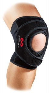 巻き付けるタイプの膝サポーター