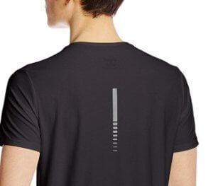 ランニングシャツの再帰反射素材