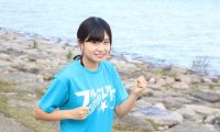 関西アイドルマラソン秋の陣で大阪マラソンを走るフルーレット・辻梨央さんにインタビューを行ってきました