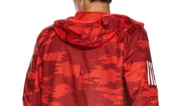 アディダスランニングジャケット