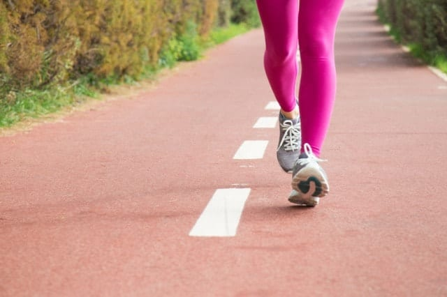 マラソンを走る