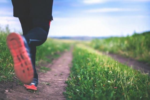 ミズノランニングタイツを履いて走る