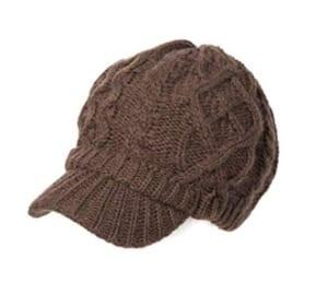 レディースニット帽