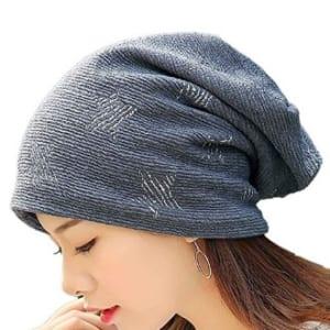 裏地付きで暖かいウォーキング帽子(レディース)