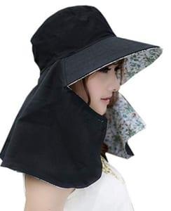 夏のウォーキングに最適な日よけ帽子(レディース)