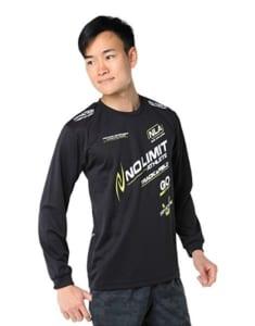 ニシスポーツの陸上長袖シャツ
