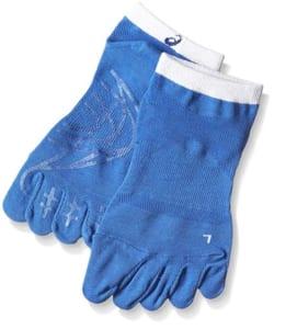 アシックスの陸上用5本指靴下