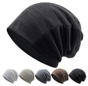 秋冬向けウォーキングニット帽