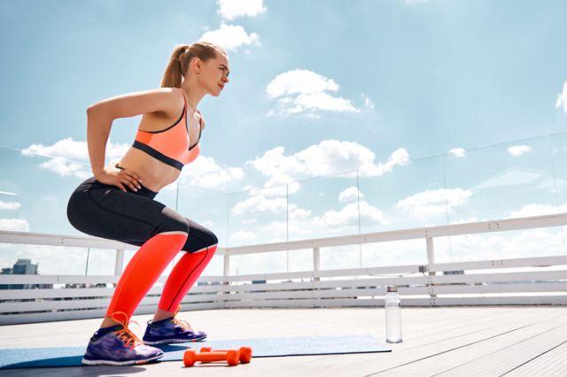 マラソンにおすすめの筋トレ