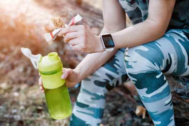 運動後にタンパク質を摂る人