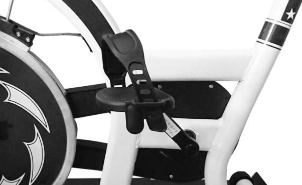 エアロバイクのペダル