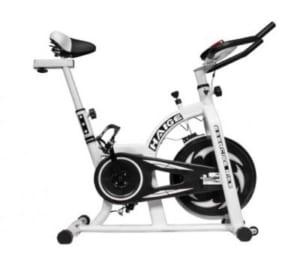 摩擦式のスピンバイク